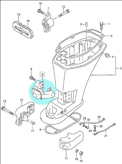 Piese de schimb Motoare Barca :: Piese motor Suzuki