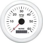 Tahometru 0/6000 rpm RECMAR