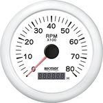 Tahometru 0/8000 rpm RECMAR