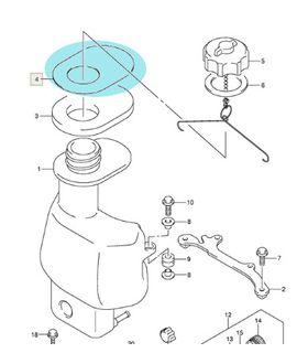 Garnitura rezervor Suzuki DF 4, 5, 6 CP